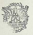 Portugal 1959 Millennium and Bicentennial of Aveiro City PMa.jpg