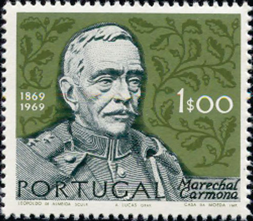 Portugal 1970 Centenary of the birth of Marshal Antonio Carmona