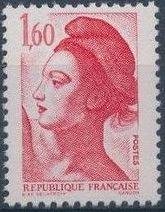 France 1982 Liberty after Delacroix (1st Issue) j.jpg