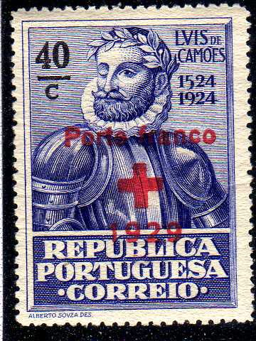 Portugal 1929 Red Cross - 400th Birth Anniversary of Camões b.jpg