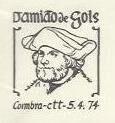 Portugal 1974 4th Centenary of the Death of Damião de Gois PMc .jpg