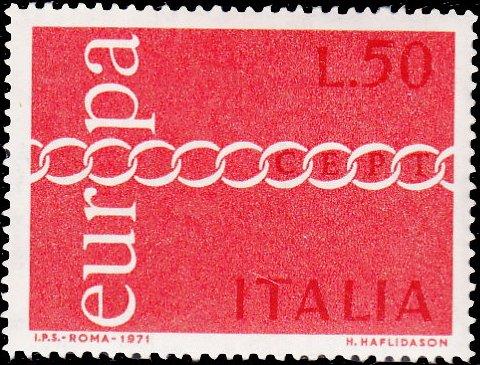 Italy 1971 Europa