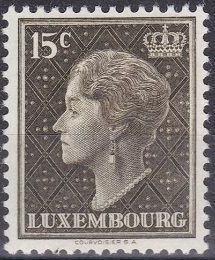 Luxembourg 1949 Grand Duchess Charlotte (2nd Group)