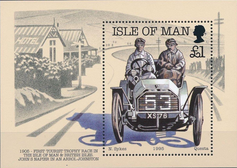 Isle of Man 1995 90th Anniversary of British Motor Car Racing