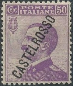 "Italy (Aegean Islands)-Castelrosso 1924 Definitives of Italy - Overprinted ""CASTELROSSO"" h.jpg"
