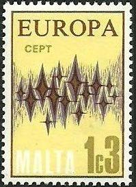 Malta 1972 Europa