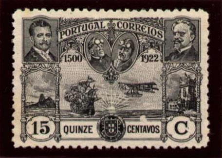 Portugal 1923 First flight Lisbon Brazil g.jpg