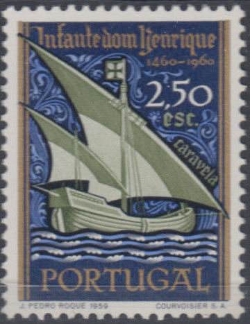 Portugal 1960 500th Anniversary of the Death of Prince Henrique the Sailor b.jpg