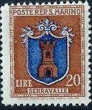 San Marino 1945 Coat of Arms m.jpg