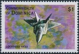 Dominica 1998 Modern Aircrafts t.jpg