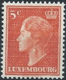Luxembourg 1951 Grand Duchess Charlotte (3rd Group)