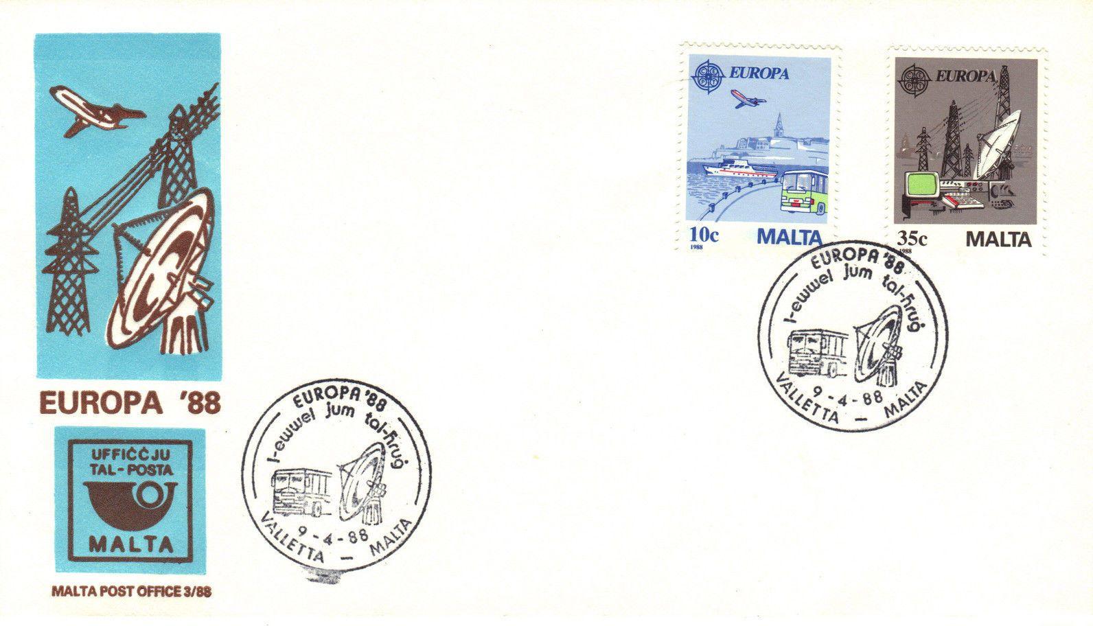 Malta 1988 Europa