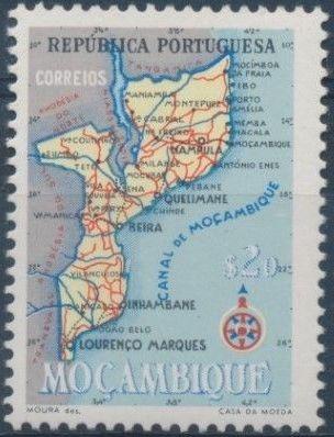 Mozambique 1954 Map of Mozambique b.jpg