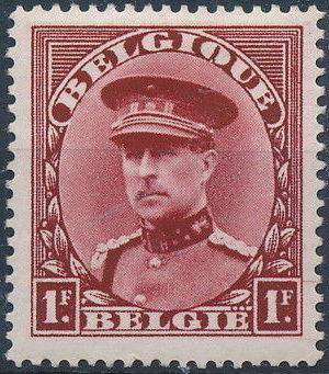 Belgium 1931 King Albert I (1st Group)