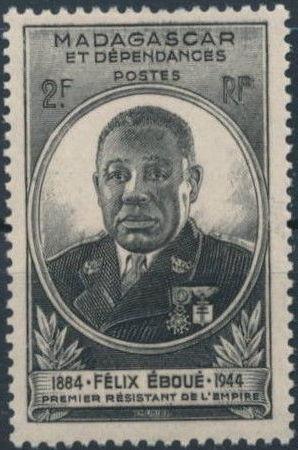 Madagascar 1945 Felix Eboue