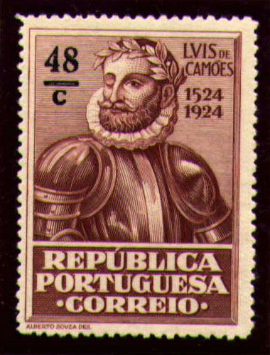 Portugal 1924 400th Birth Anniversary of Camões o.jpg