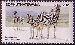 Bophuthatswana 1983 Pilanesberg Nature Reserve b.jpg