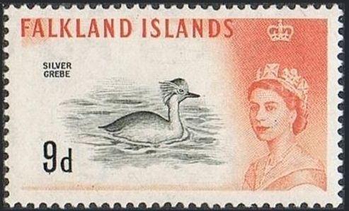 Falkland Islands 1960 Queen Elizabeth II and Birds i.jpg