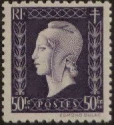 France 1945 Marianne de Dulac (2nd Issue) s.jpg