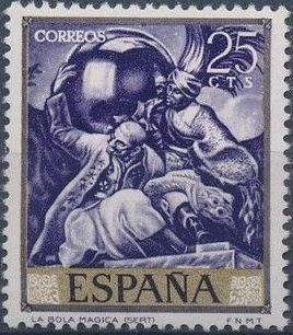 Spain 1966 Painters - José Maria Sert
