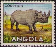 Angola 1953 Animals from Angola i.jpg