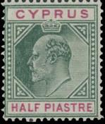 Cyprus 1904 King Edward VII