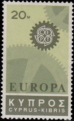 Cyprus 1967 EUROPA - CEPT