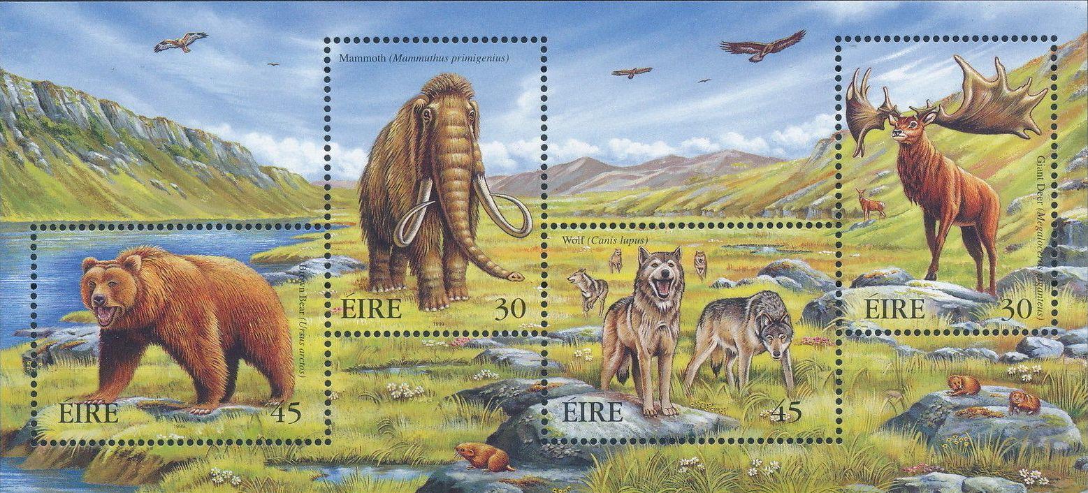 Ireland 1999 Extinct Irish Animals c.jpg