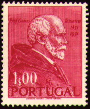 Portugal 1952 Centenary of the Birth of Francisco Gomes Teixeira
