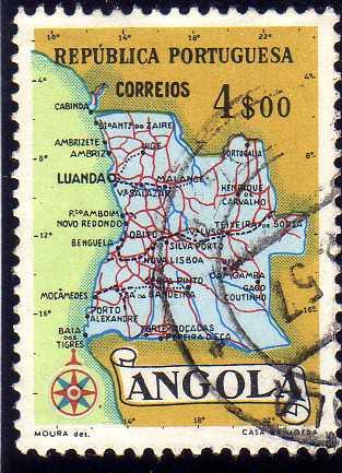 Angola 1955 Map of Angola f.jpg