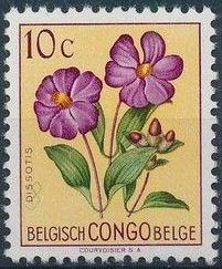 Belgian Congo 1952 Flowers