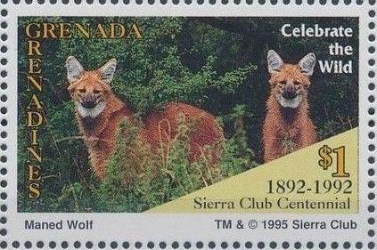 Grenada Grenadines 1995 100th Anniversary of Sierra Club - Endangered Species i.jpg