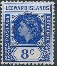 Leeward Islands 1954 Queen Elizabeth II h.jpg