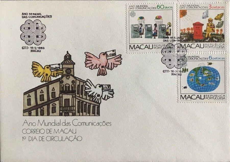 Macao 1983 World Communications Year FDCa.jpg
