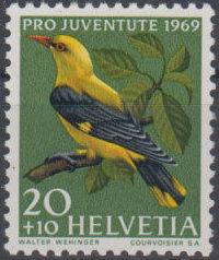 Switzerland 1969 PRO JUVENTUTE - Birds b.jpg