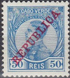 Cape Verde 1912 D. Manuel II Overprinted REPUBLICA f.jpg