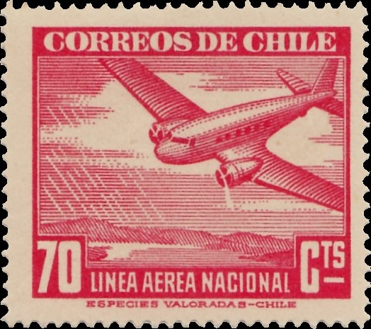Chile 1941 Air Post Stamps (Type 1941) f.jpg