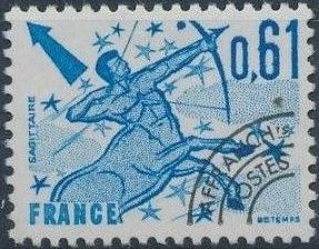 France 1978 Signs of the Zodiac - Precanceled (3th Issue)