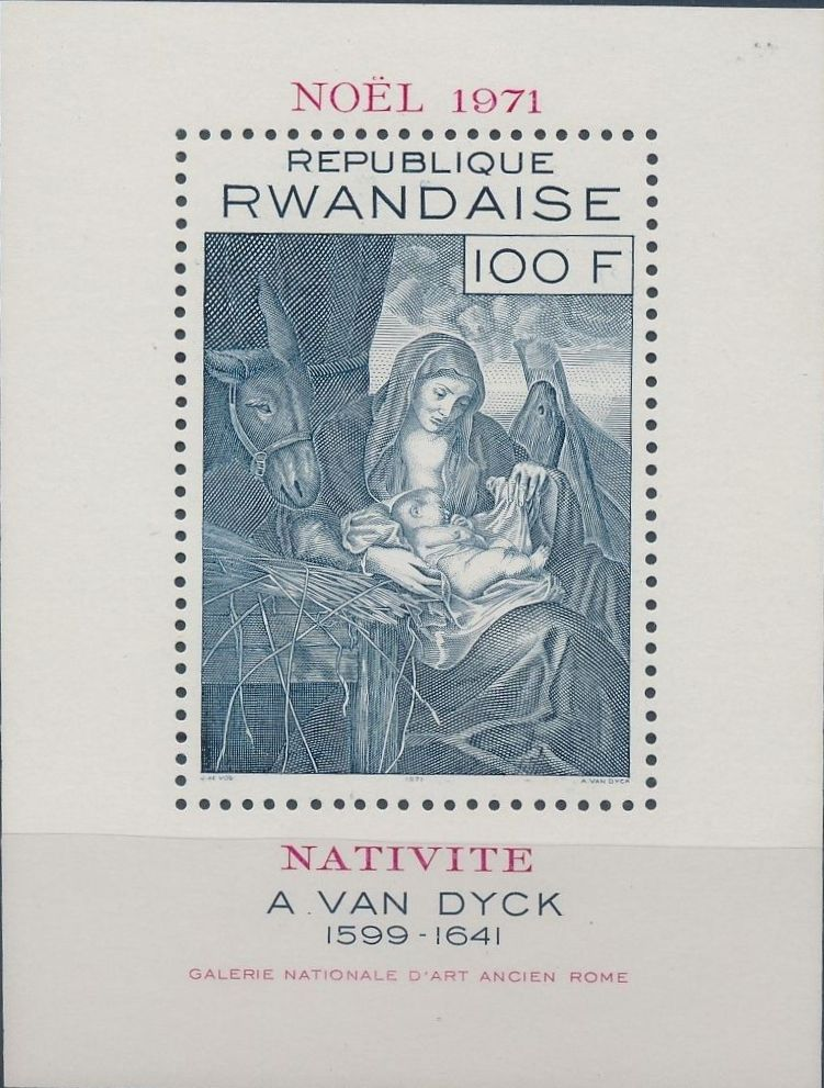 Rwanda 1971 Christmas