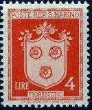 San Marino 1946 Coat of Arms