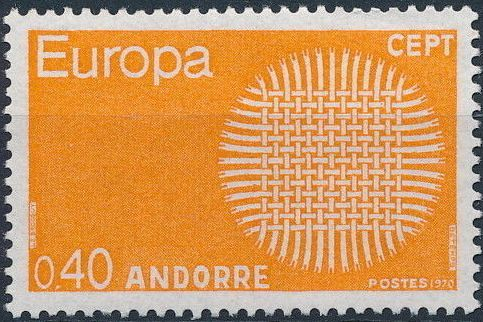 Andorra-French 1970 Europa