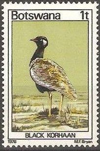 Botswana 1978 Birds of Botswana