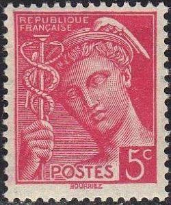 France 1938 Mercury (1st Group)
