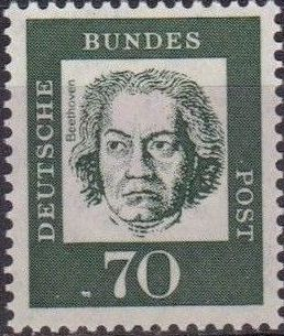 Germany, Federal Republic 1961 Famous Germans l.jpg