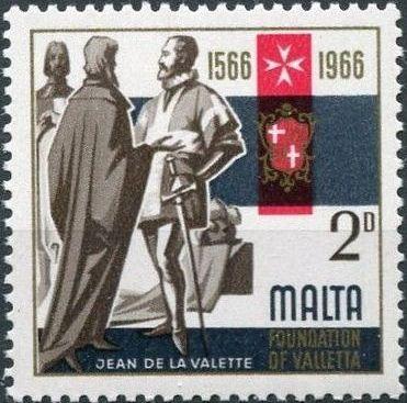 Malta 1966 4th Centenary Of The Foundation Of Valletta