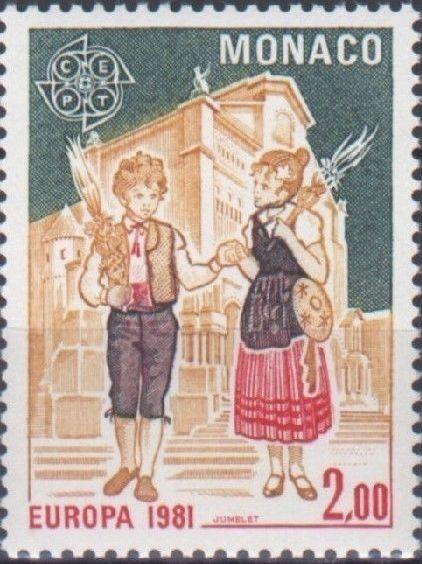 Monaco 1981 EUROPA - Folklore b.jpg