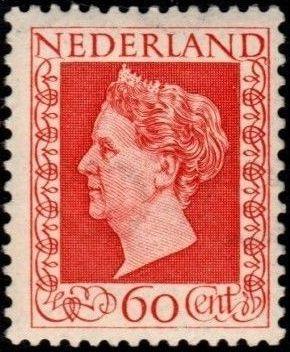 Netherlands 1948 Queen Wilhelmina - Type Hartz h.jpg