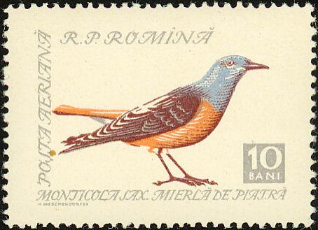 Romania 1959 Birds