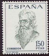 Spain 1966 Famous Spanish - Poets and Dramaturges