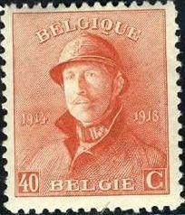 Belgium 1919 King Albert in Trench Helmet i.jpg